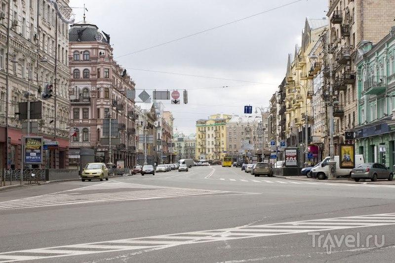 Улица Красноармейская в Киеве, Украина  / Фото с Украины
