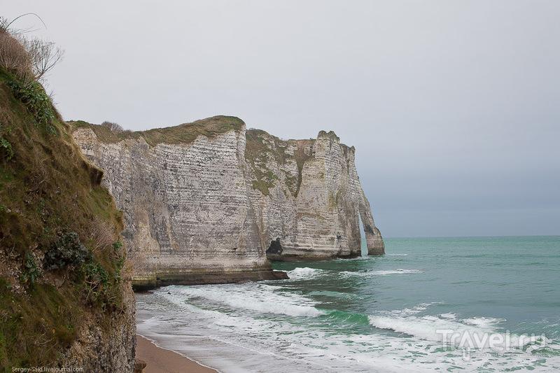 La falaise d'Aval, Франция / Фото из Франции