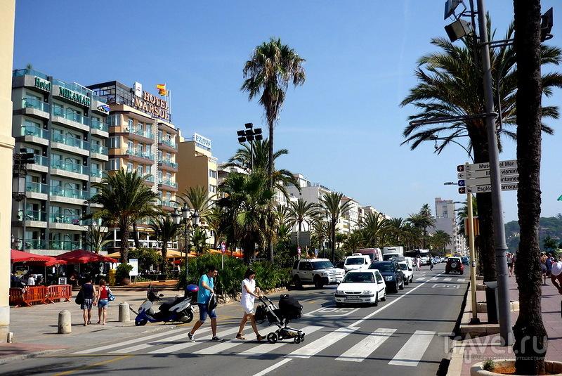За новыми ощущениями по морю из Тоссы в Ллорет / Испания