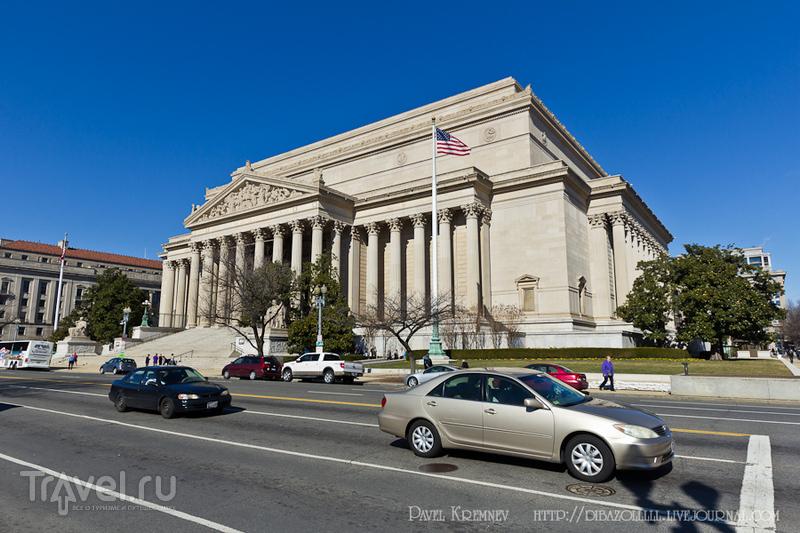 Национальный архив США в Вашингтоне / Фото из США