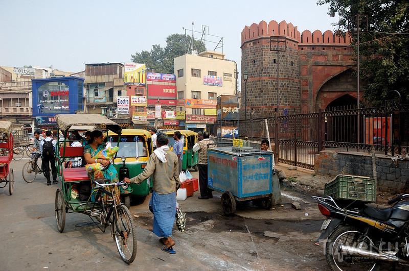 В городе Дели, Индия / Фото из Индии
