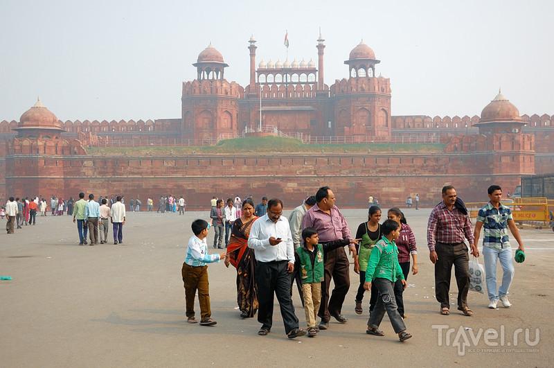 Красный форт, Дели / Фото из Индии