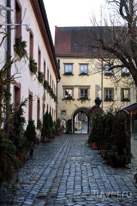 """Резиденция епископа (""""Епископский двор"""") в Регенсбурге, Германия / Фото из Германии"""