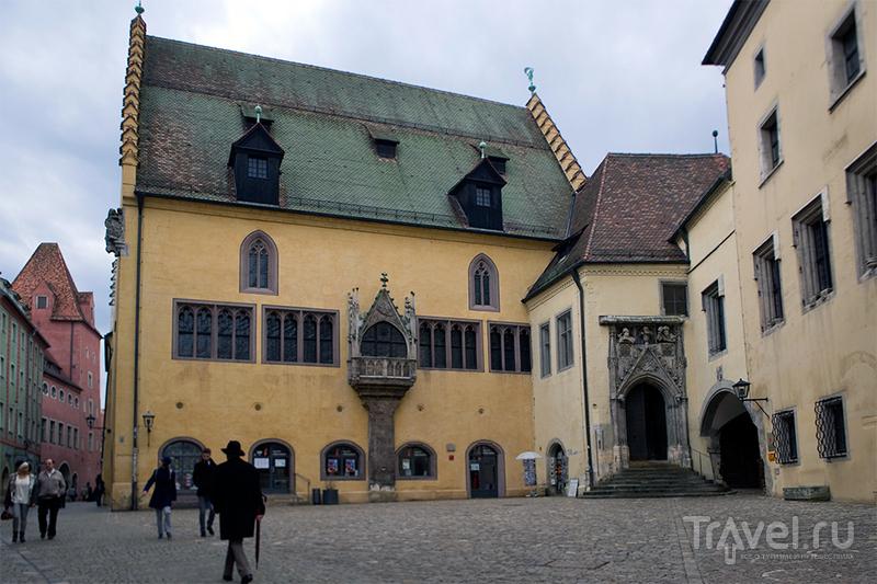 Старая ратуша (Altes Rathaus) в Регенсбурге, Германия / Фото из Германии