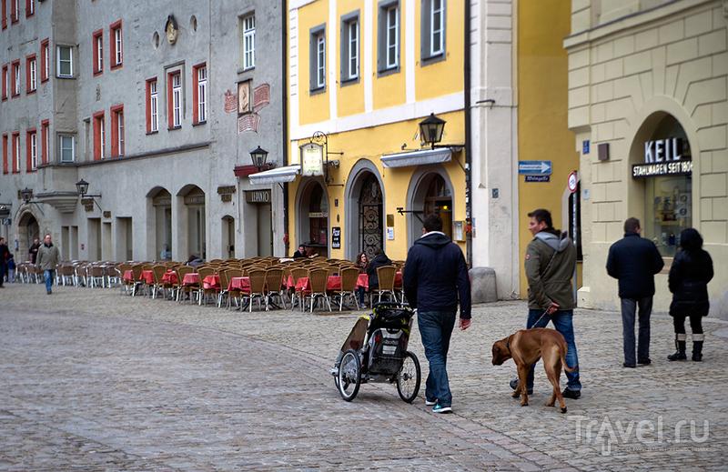 Регенсбург - баварская сказка / Фото из Германии