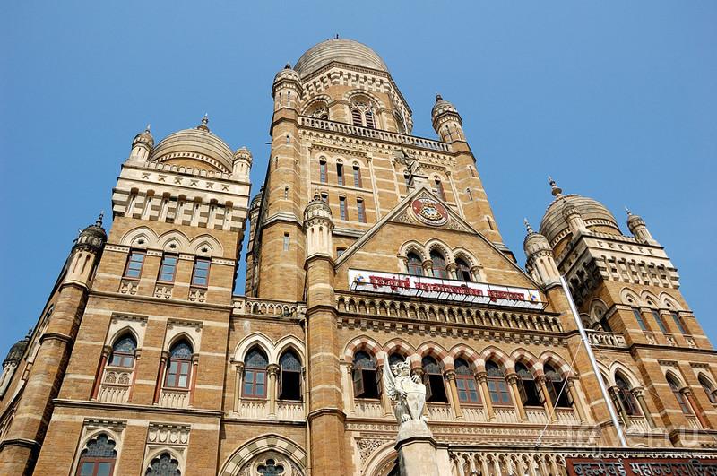 Здание Mumbai Municipal Corporation в Мумбаи, Индия / Фото из Индии