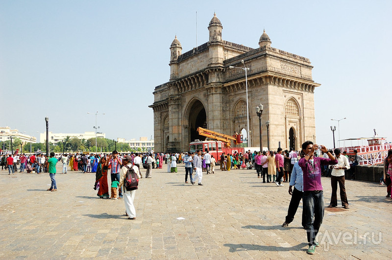 Ворота Индии в Мумбаи, Индия / Фото из Индии