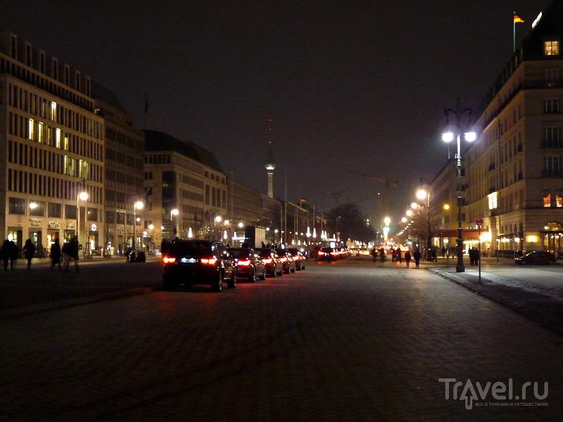 Бульвар Унтер-ден-Линден, Берлин / Фото из Германии