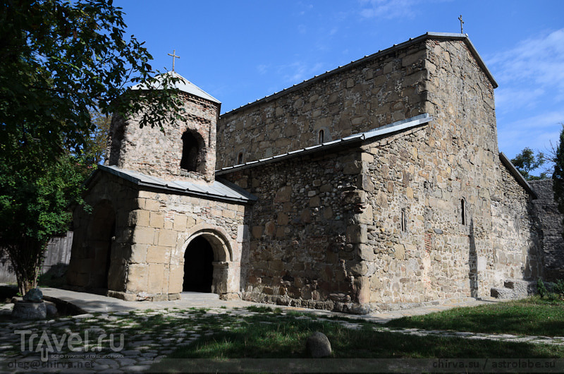 Монастырь Зедазени, Грузия / Фото из Грузии