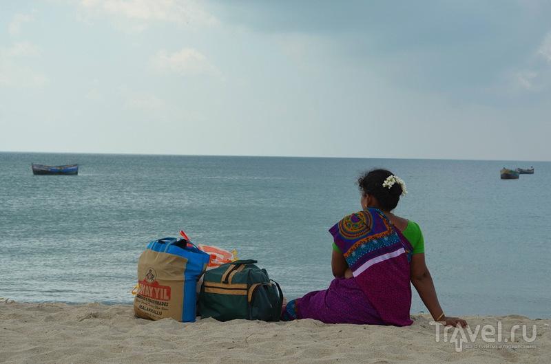 На косе Данушкоди, Индия / Фото из Индии