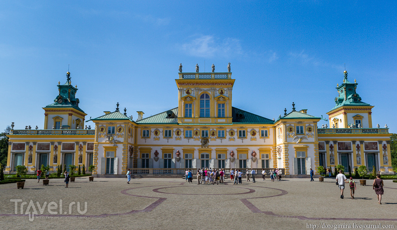 Вилянувский дворец, Польша / Фото из Польши