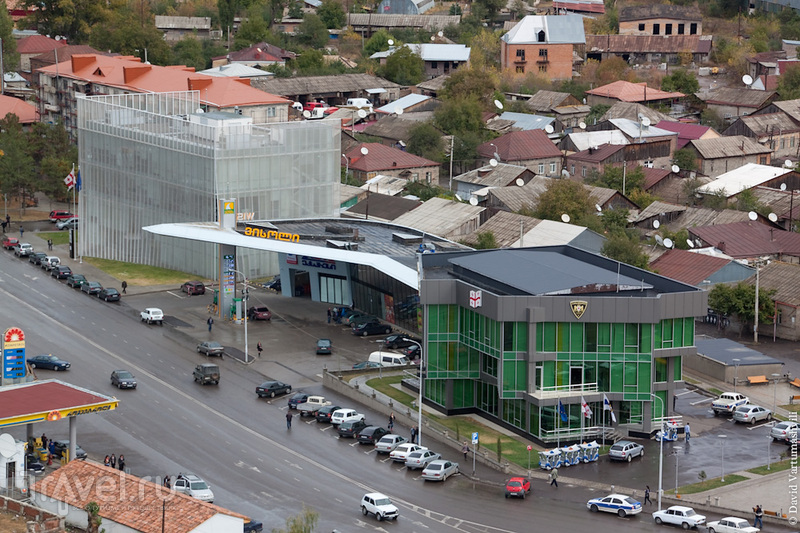 Улица Тамарашвили в Ахалцихе, Грузия / Фото из Грузии