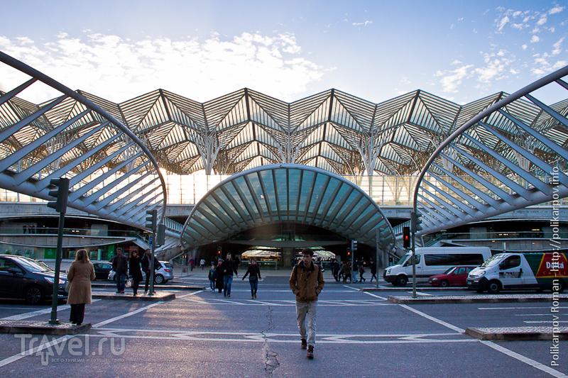 Вокзал Ориенте в Лиссабоне, Португалия / Фото из Португалии