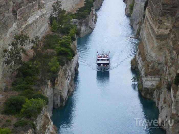 Греция. Коринфский канал / Греция
