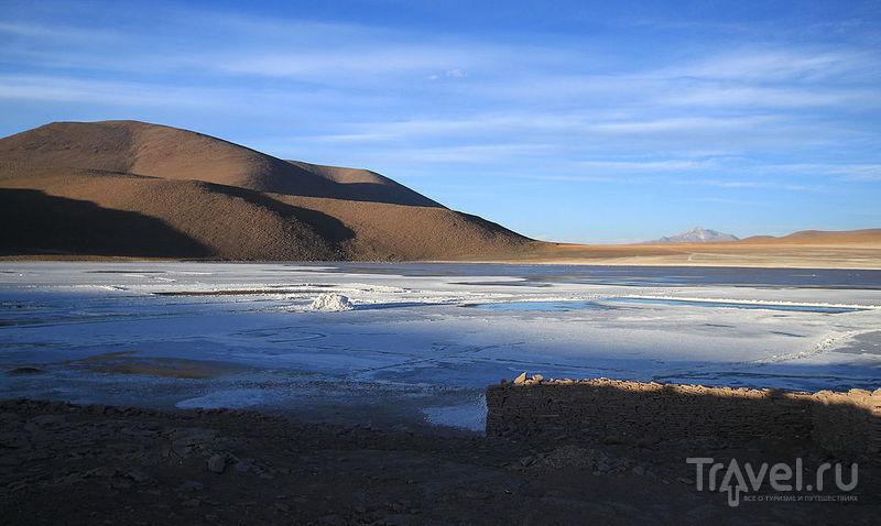 Солончак Чальвири, Боливия / Фото из Боливии