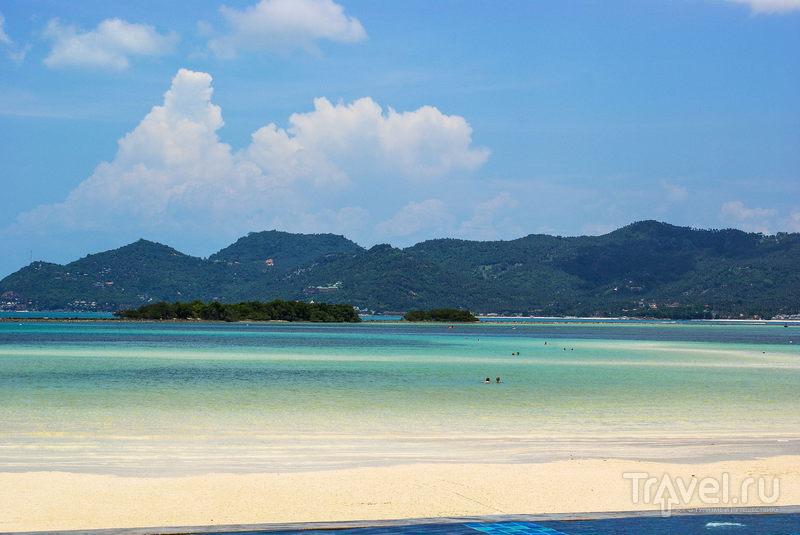 Пляж в северной части Чавенга на острове Самуи, Таиланд / Фото из Таиланда