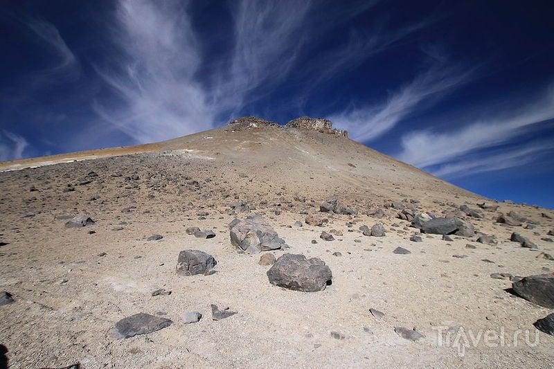 Вулкан Утурунку, Боливия / Фото из Боливии