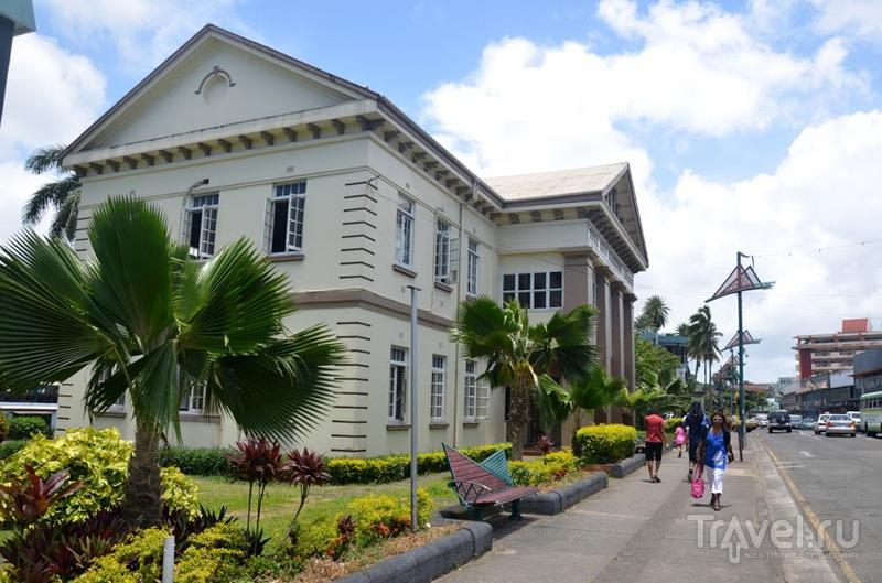 В городе Сува, Фиджи / Фото с Фиджи