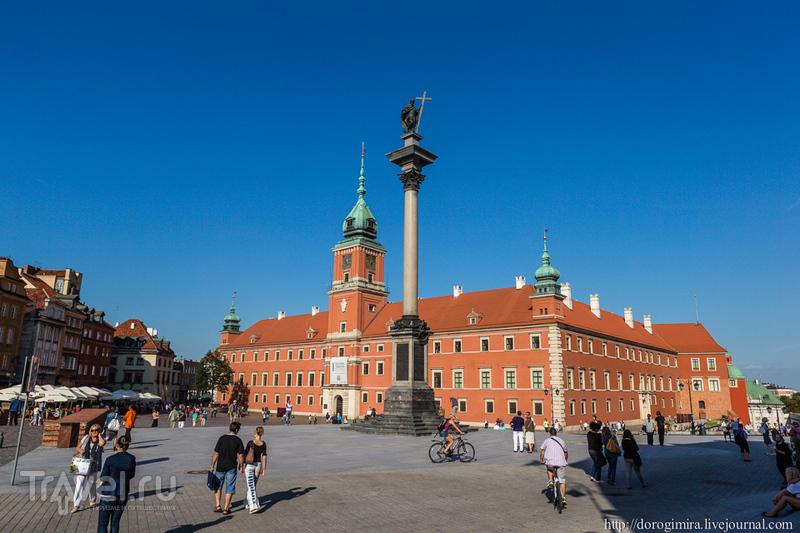 Королевский замок в Варшаве, Польша / Фото из Польши