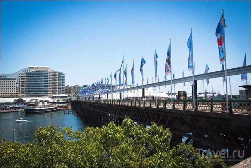 Мост Pyrmont Bridge в Сиднее, Австралия / Фото из Австралии