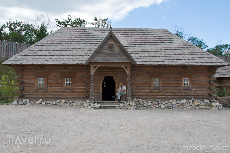 Остров Хортица, Запорожская Сечь / Фото с Украины