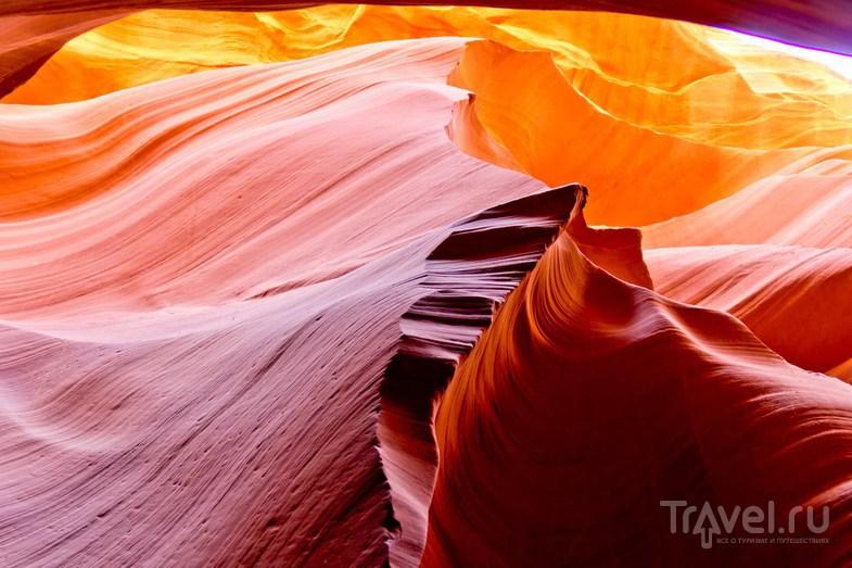 Каньоны Антилопы / Фото из США