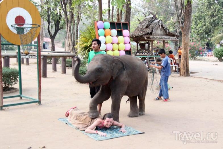 Экскурсия Аюттайя - национальный парк Эраван - река Кхвэяй / Таиланд