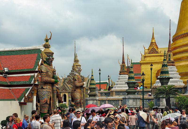 Храм Изумрудного Будды / Фото из Таиланда