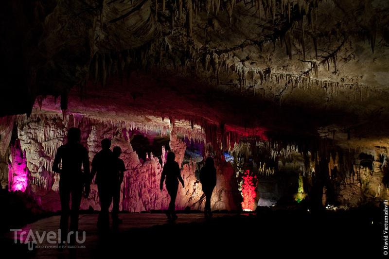 В пещере Прометея, Грузия / Фото из Грузии