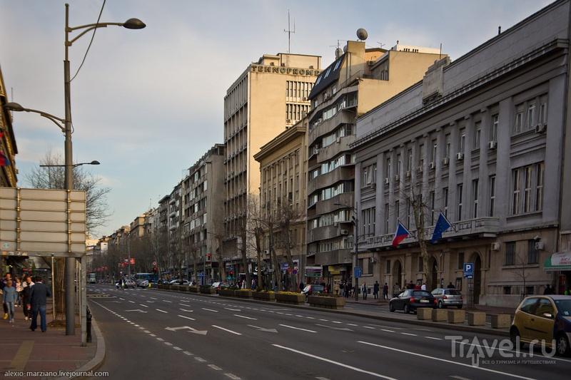 Бульвар Короля Александра в Белграде, Сербия / Фото из Сербии