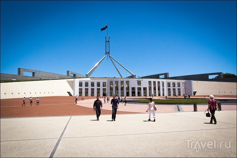 В городе Канберра, Австралия / Фото из Австралии