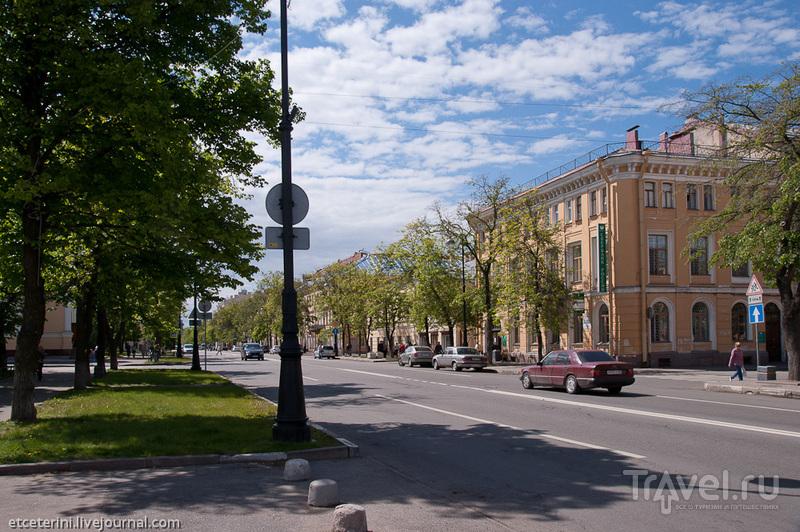 Проспект Ленина в Кронштадте, Россия / Фото из России