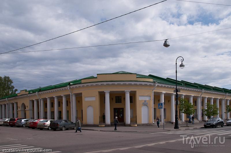 Гостиные ряды в Кронштадте, Россия / Фото из России