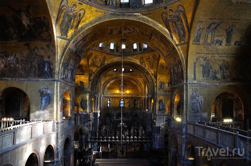 В соборе Сан-Марко в Венеции, Италия / Фото из Италии