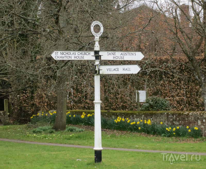 В деревушке Чотон, Великобритания / Фото из Великобритании