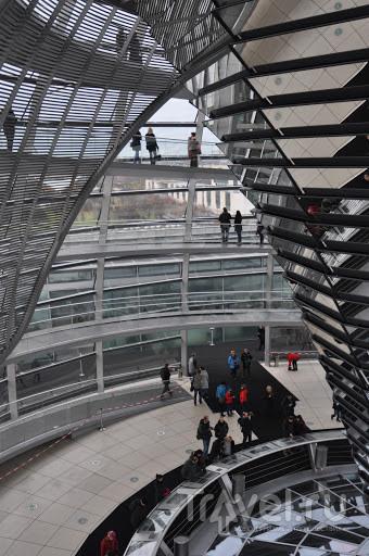 Купол Рейхстага - архитектурное чудо / Германия
