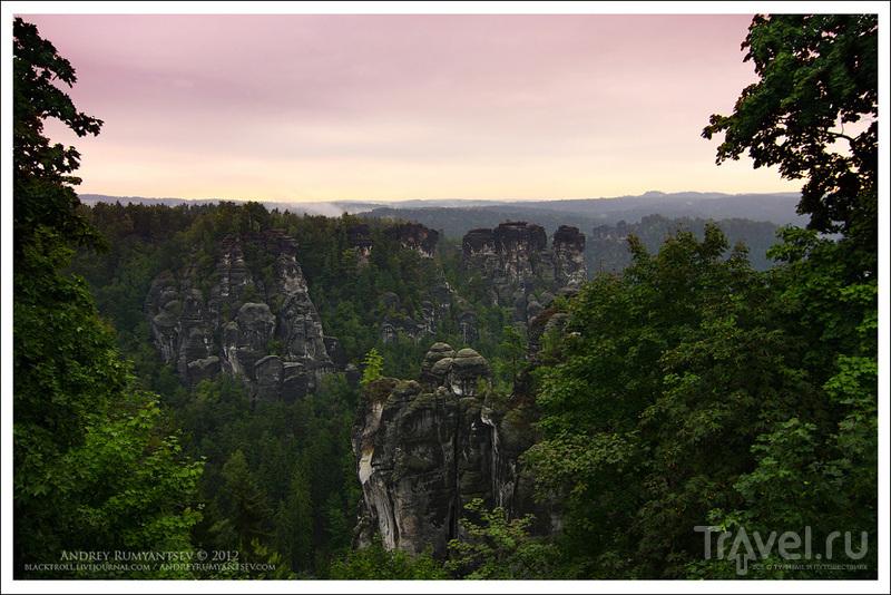 Скалы Бастай, Германия / Фото из Германии