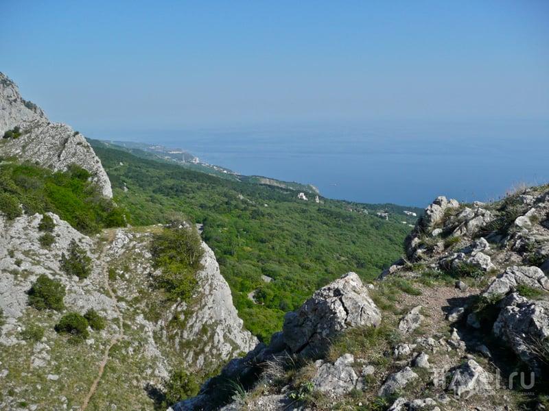 Крым. Меллас и Ай-Петри / Фото с Украины