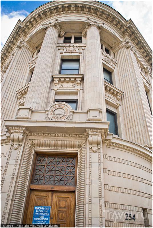 Здание Банка Новой Скошии / Фото из Канады