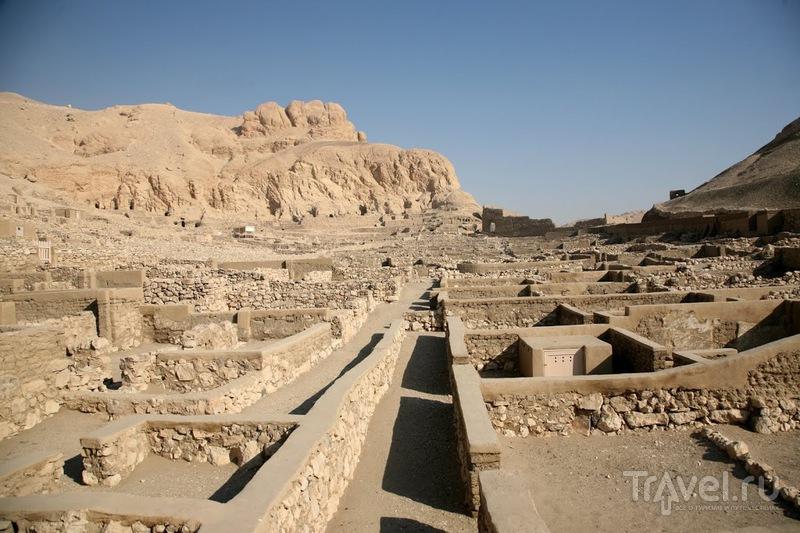 Дейр-эль-Медина, Египет / Фото из Египта
