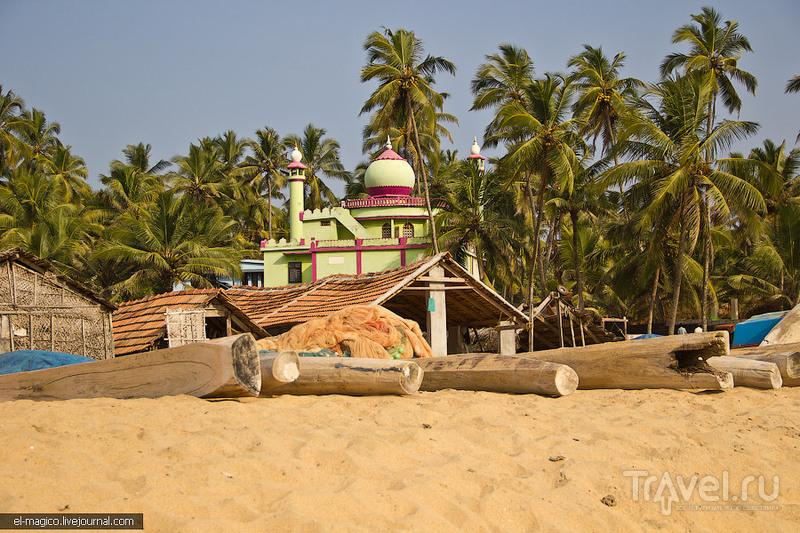 Варкала: рыбацкая деревня и рынок / Фото из Индии