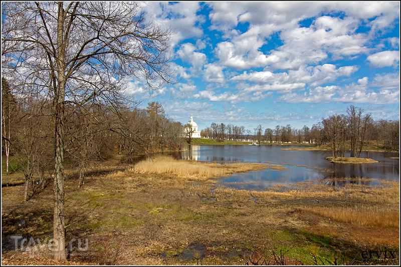 Нижний пруд в Ораниенбауме, Россия / Фото из России