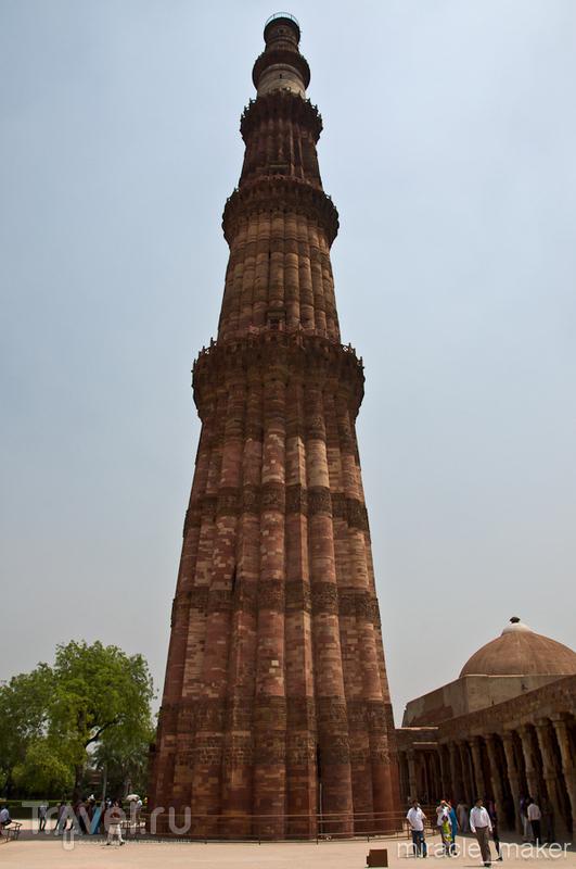 Кутб-Минар в Дели, Индия / Фото из Индии