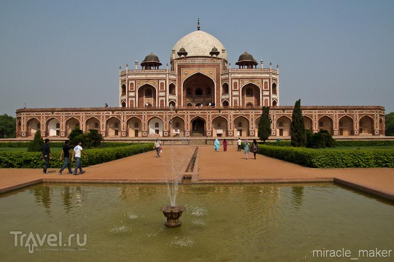 Гробница-мавзолей Хумаюна в Дели, Индия / Фото из Индии