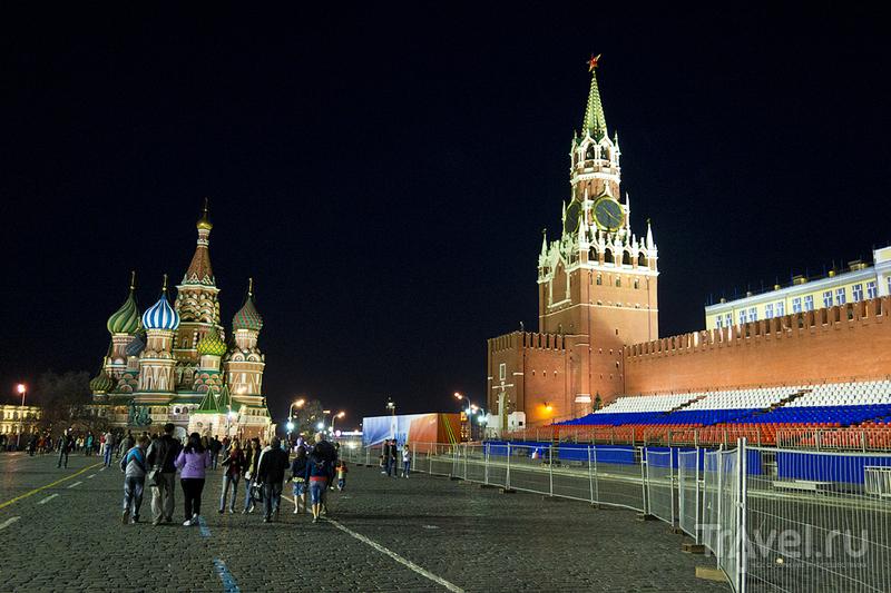 Красная площадь в Москве, Россия / Фото из России