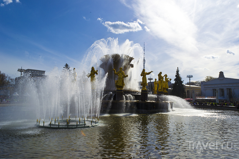 ВДНХ в Москве, Россия / Фото из России