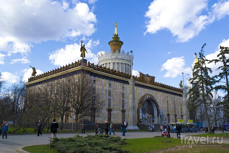 Выставочный павильон Украинской ССР в Москве, Россия / Фото из России