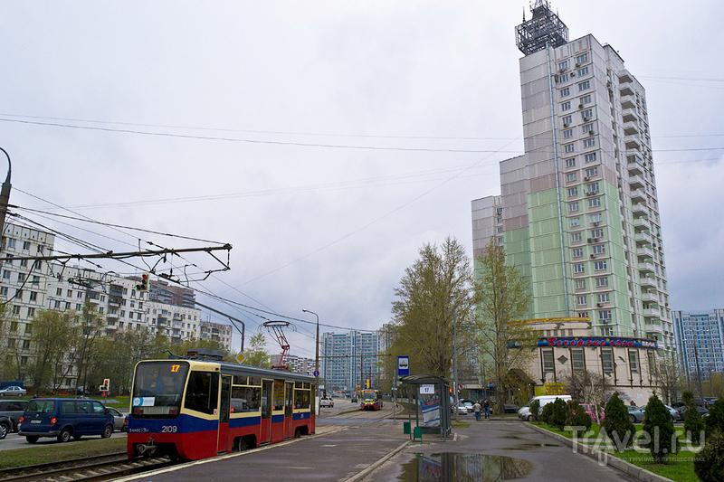 Бабушкинский район на окраине Москвы, Россия / Фото из России