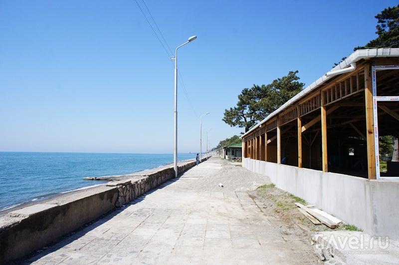 Батуми. Безлюдный курорт / Фото из Грузии
