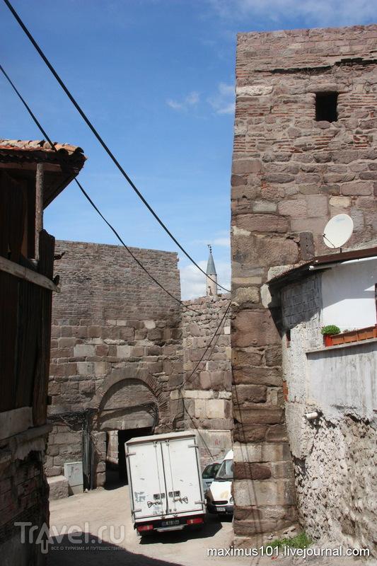 Ворота Ич кале в Анкаре, Турция / Фото из Турции